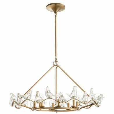 Dove chandelier