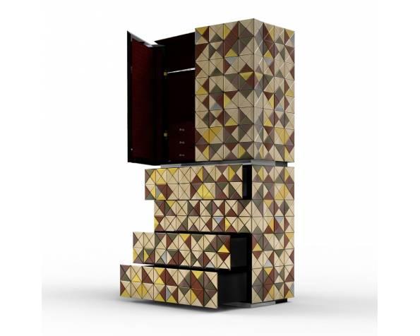 Pixel Anodized Cabinet