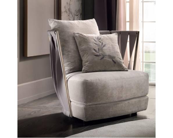 Twist armchair