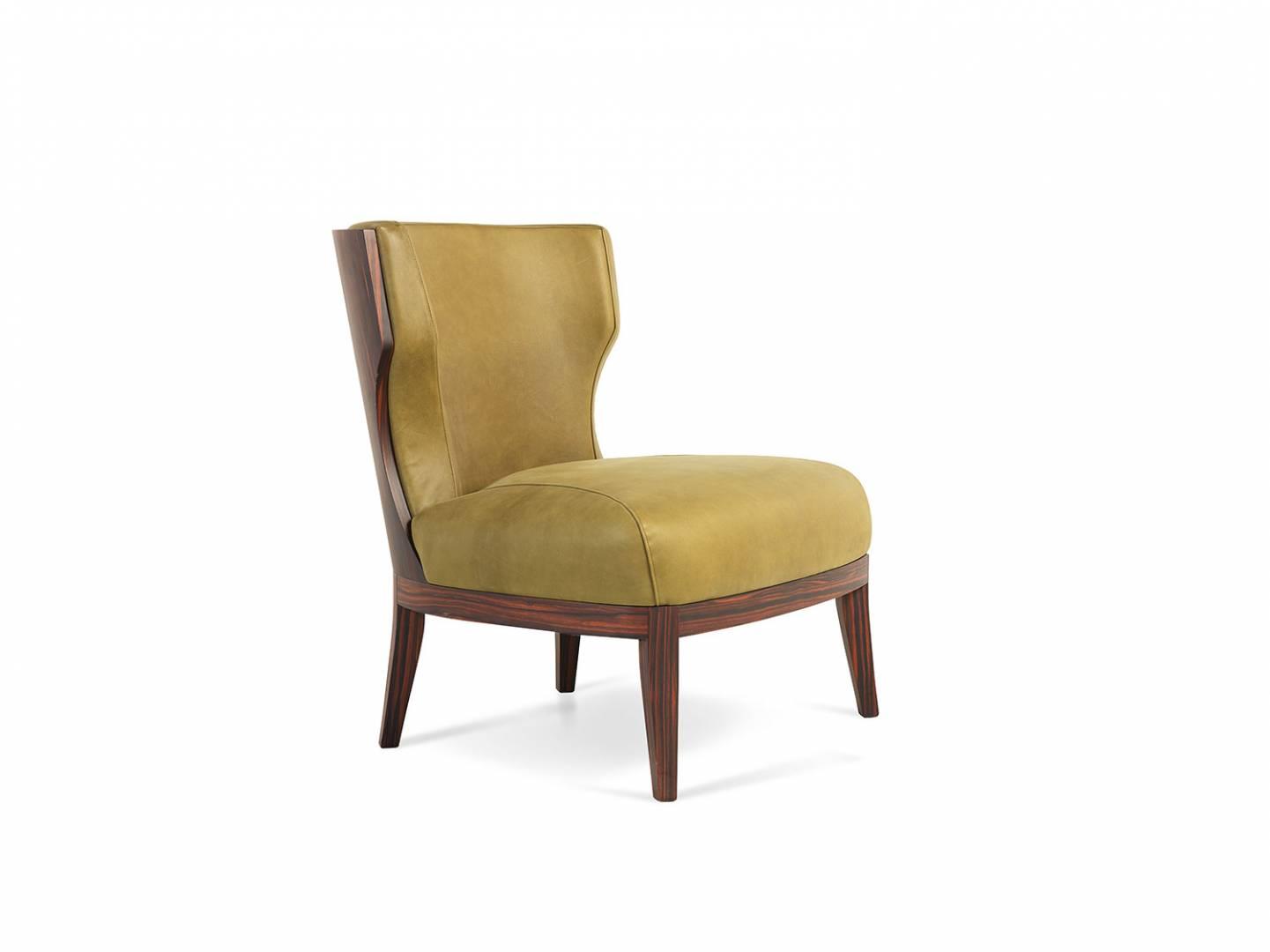 grace wood armchair