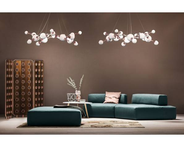 Chandelier Atomic Round Lamp фото