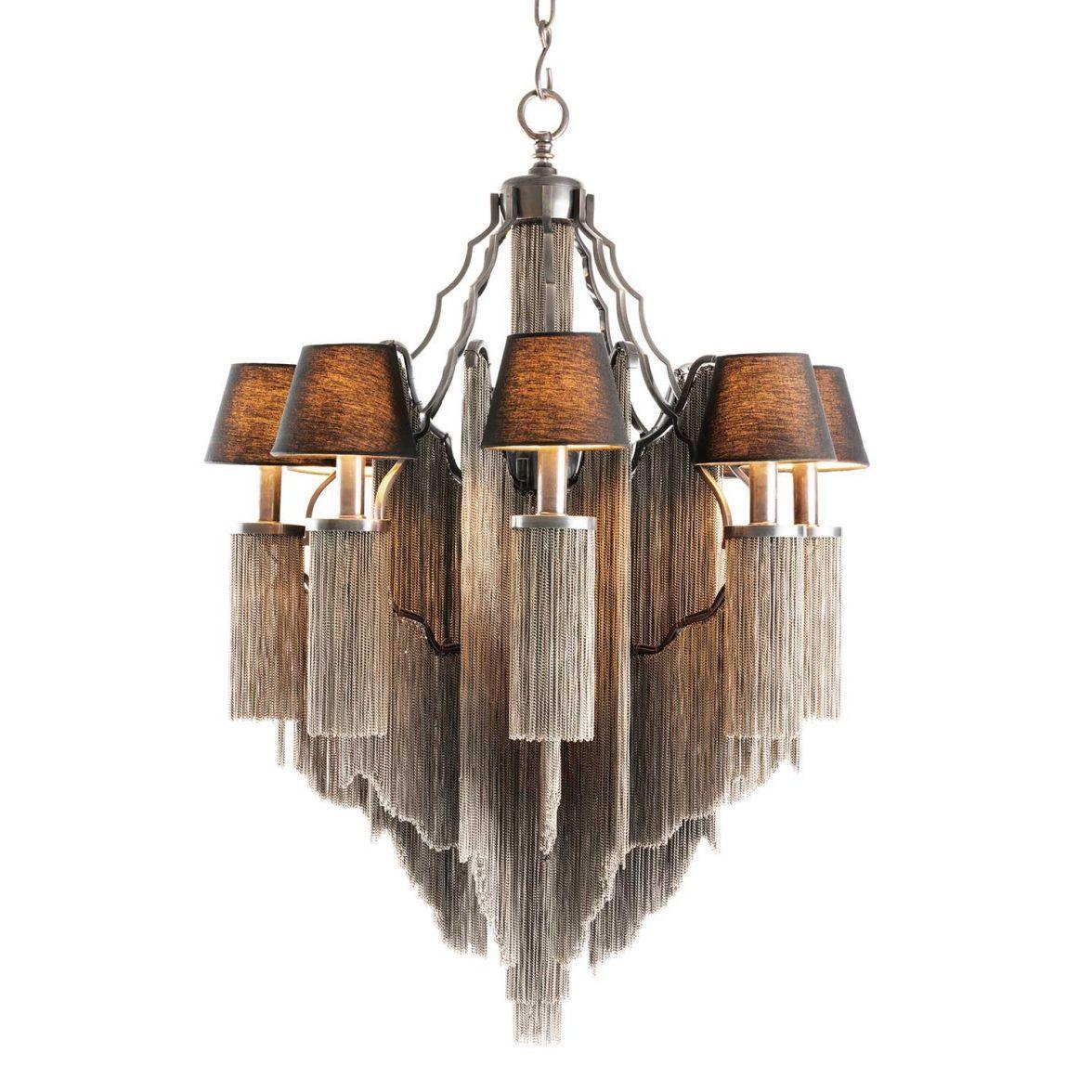 Fringe chandelier L