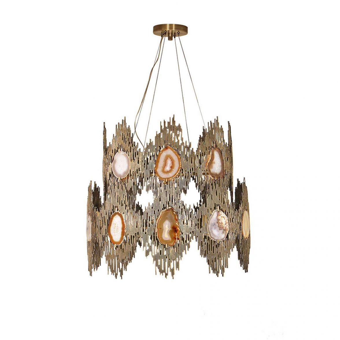 VIVRE 2 RINGS CHANDELIER