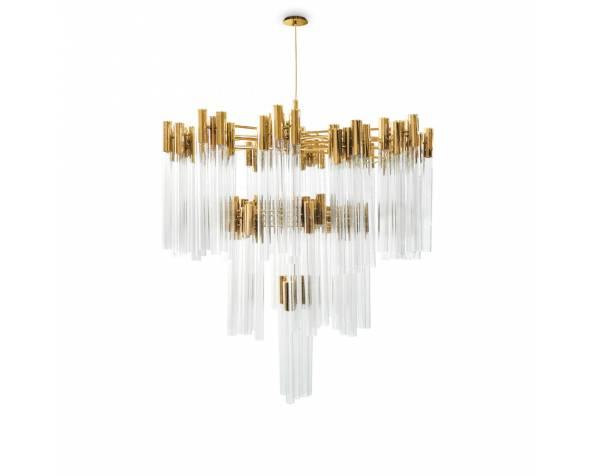 Burj chandelier