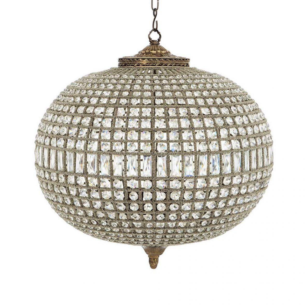 Kasbah oval chandelier L