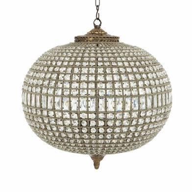 Kasbah oval chandelier L фото цена