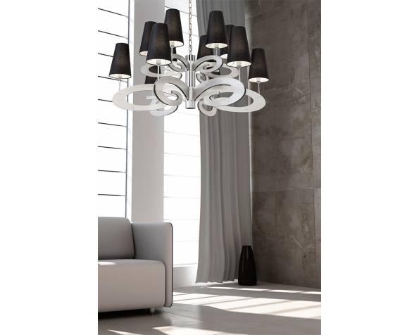 Lazy sunday chandelier