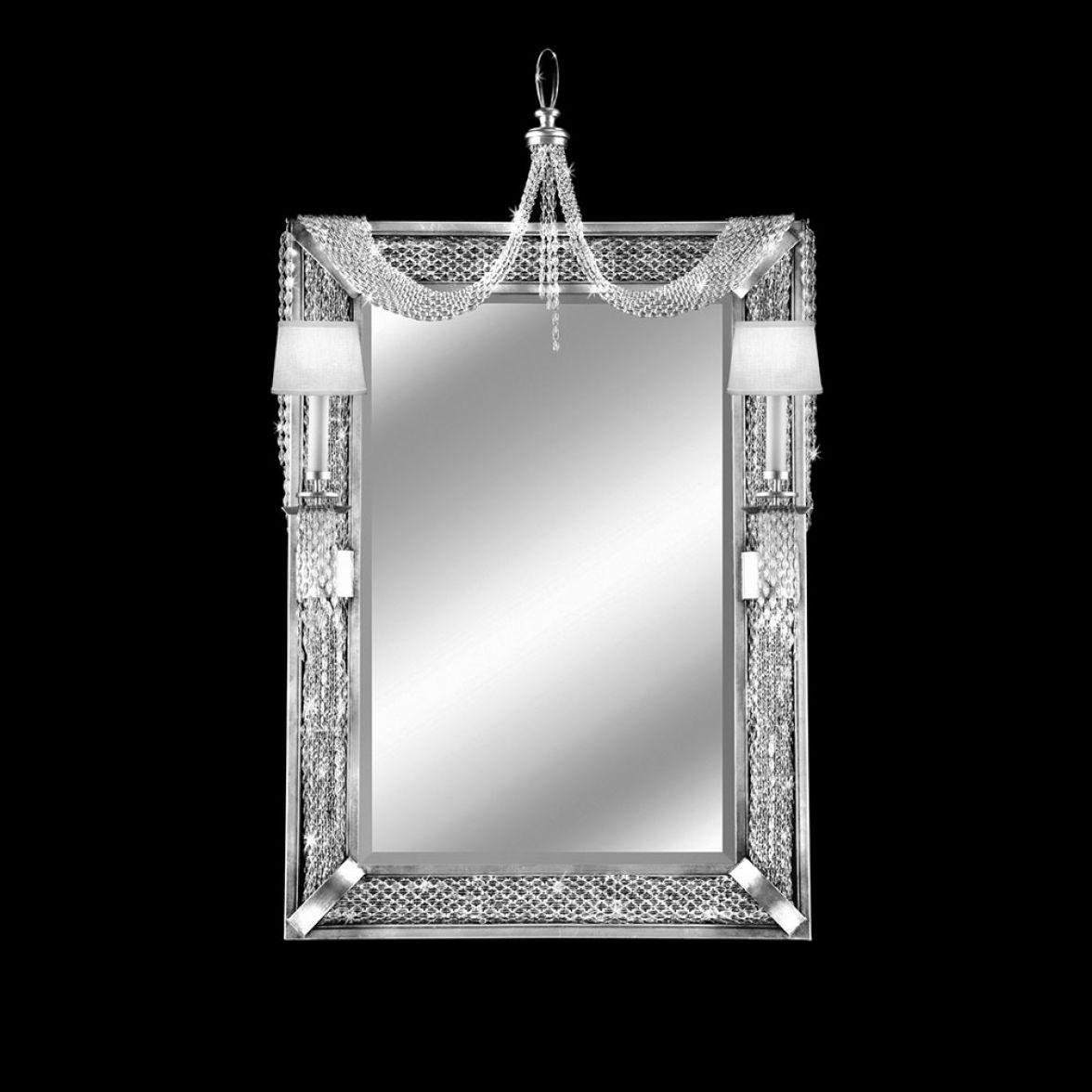 Зеркало с двумя бра Cascades фото цена