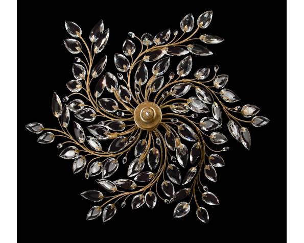 Crystal Laurel Gold pendant фото