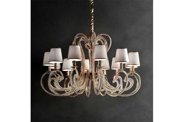 cristalis GOLD chandelier  фото цена