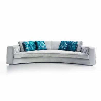 Richmond grand sofa curved
