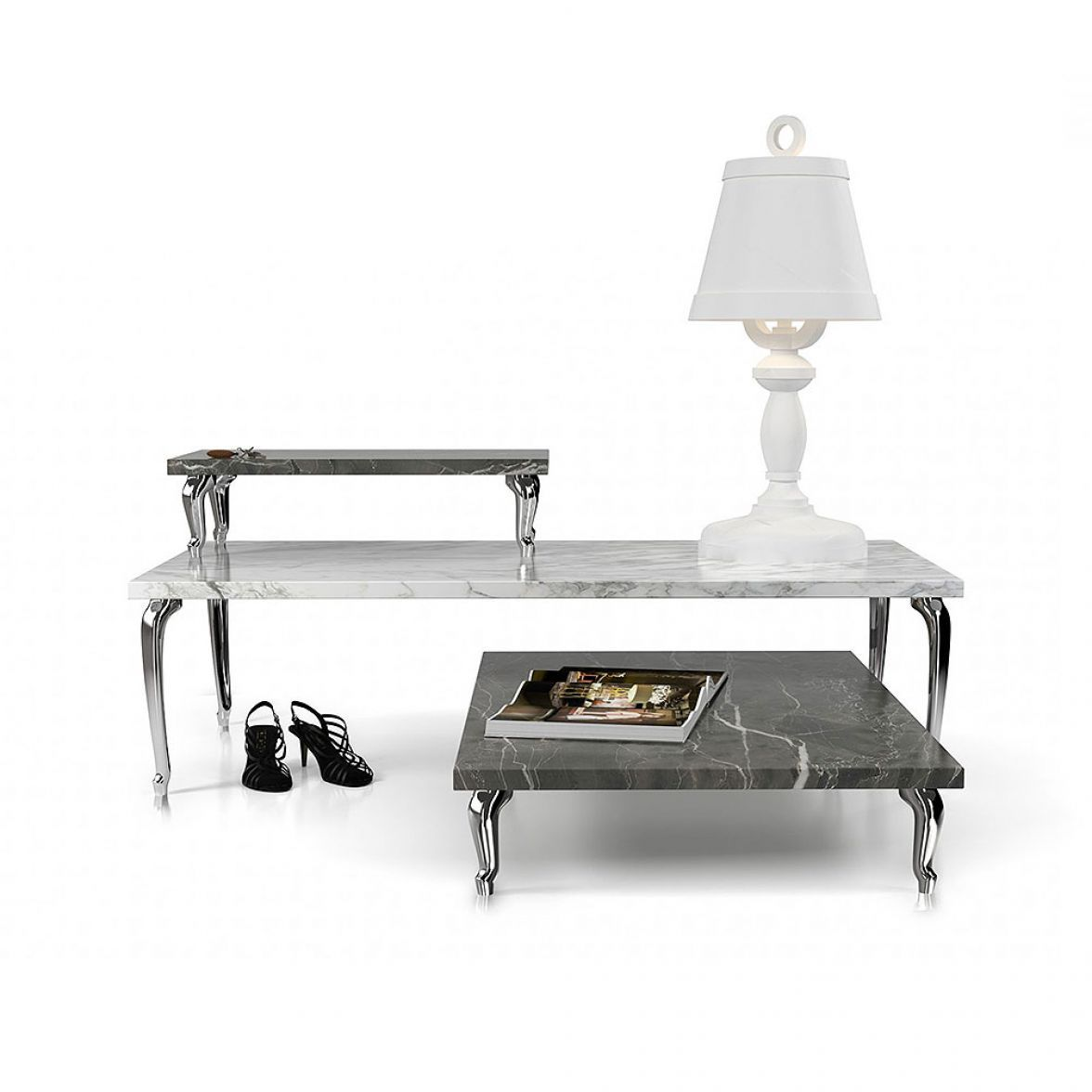 Bassotti coffee tables set