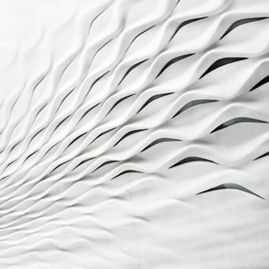 Swirl marble wall