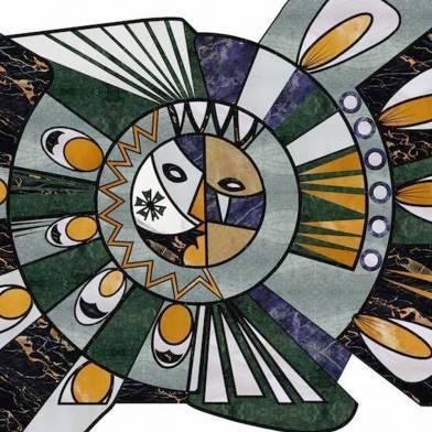 Radieuse marble carpet