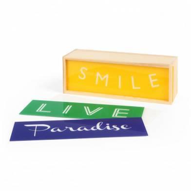 Lighthink box  Smile/ Paradise
