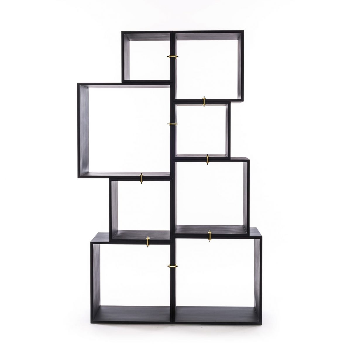 Modular bookcase Assemblage  Antracite фото цена