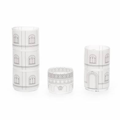 Набор стаканов Torre Scupa  фото цена