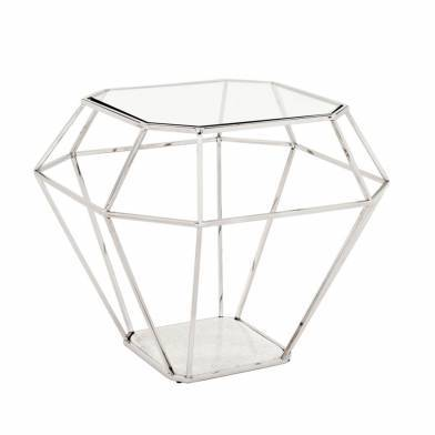 Asscher Side Table