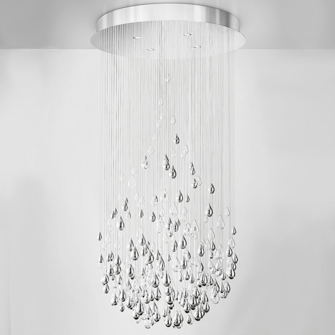 Droplets chandelier