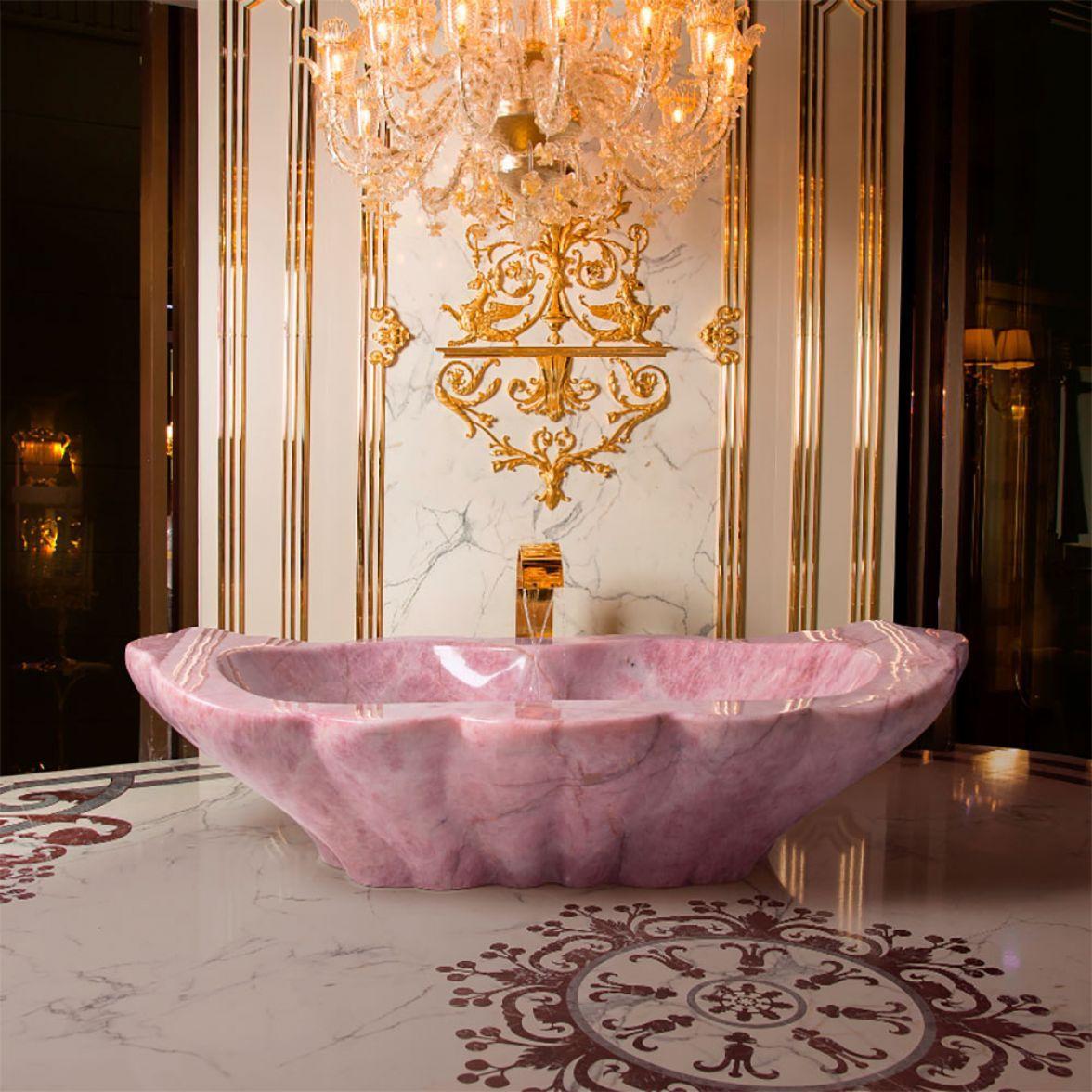 Ванна QRO PINK фото цена