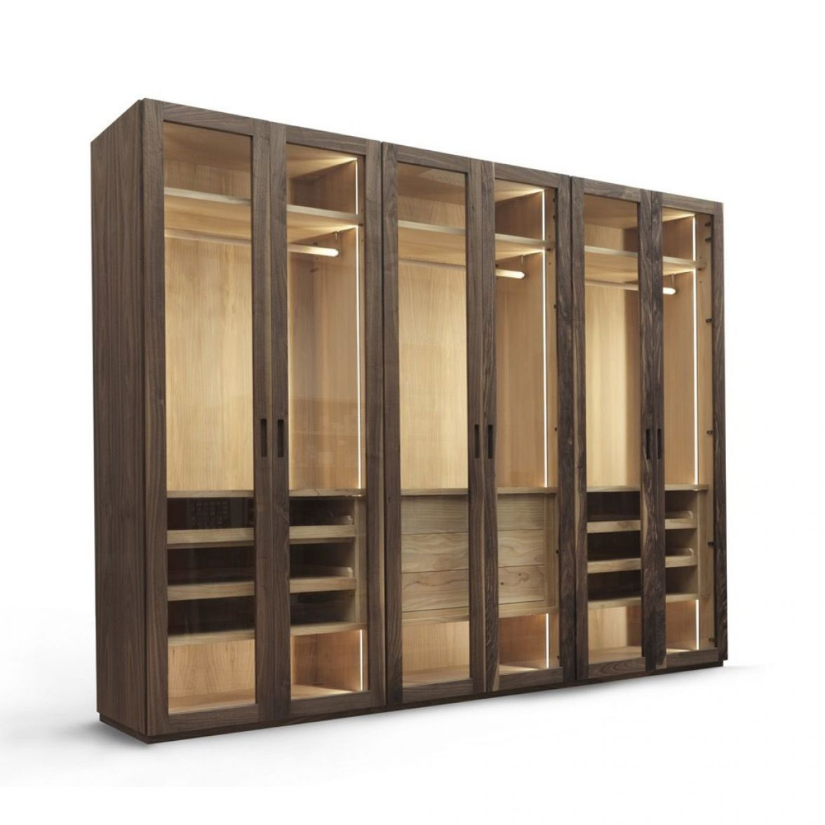 Four season glass Wardrobe фото цена