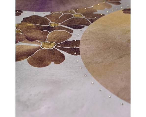 Gold Pendulum Led Wallpaper фото