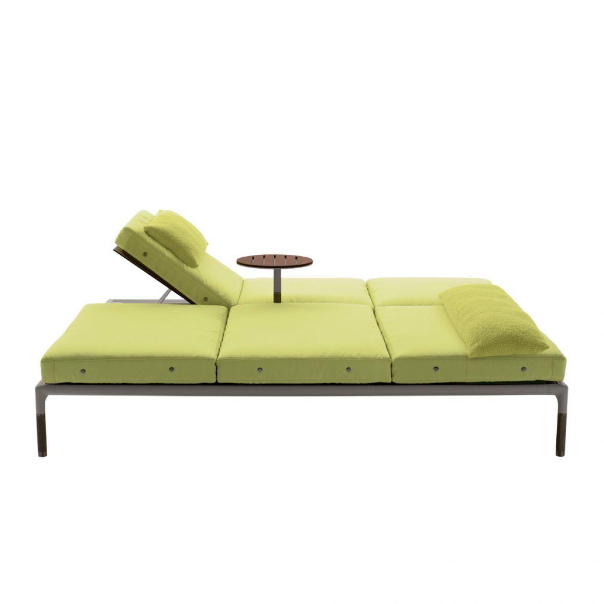 Springtime chaise lounge