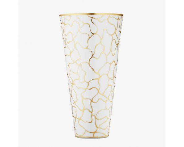 Fer forge Craquele vase
