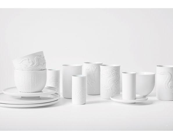 Touche White table servise