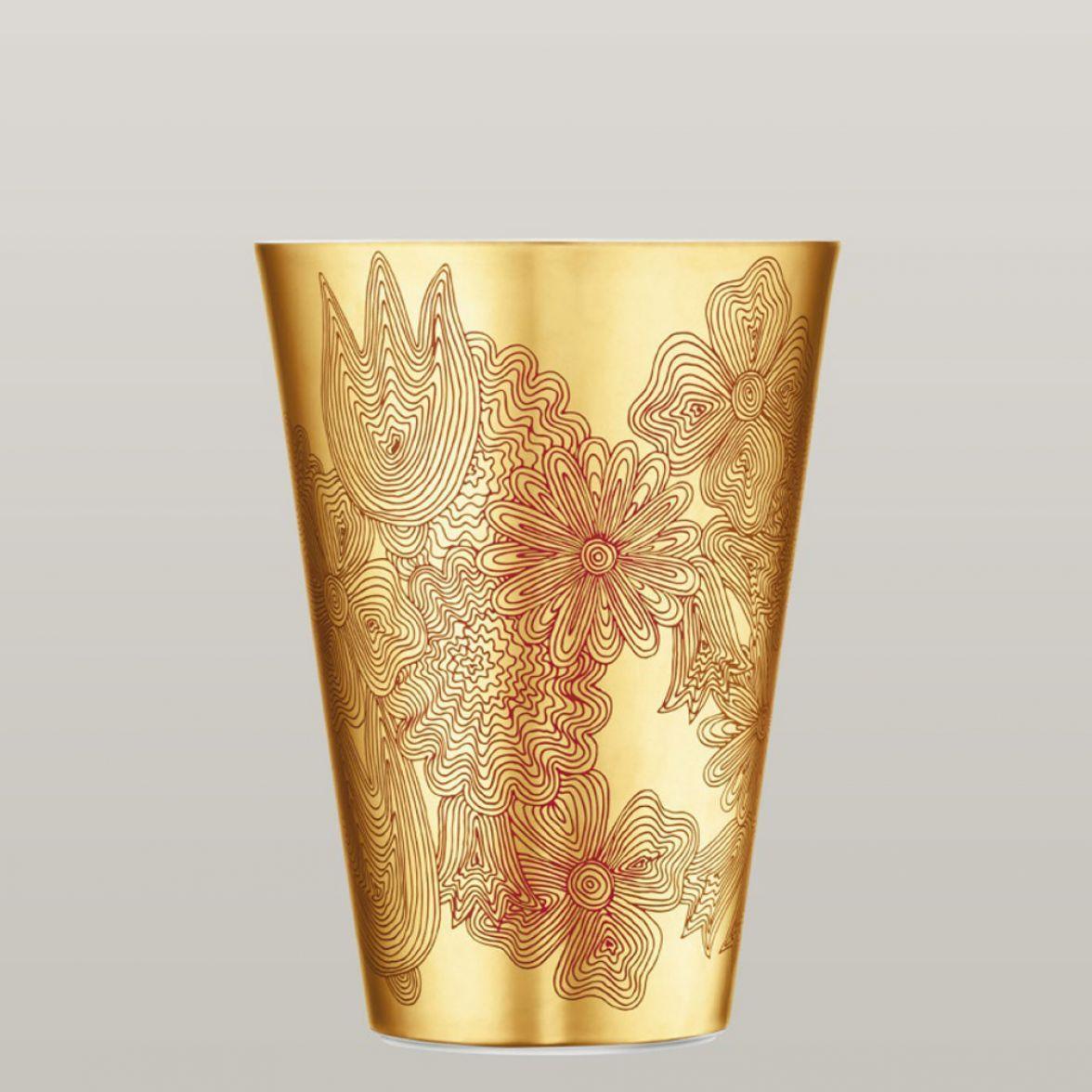 Les fleurs sur or vase фото цена