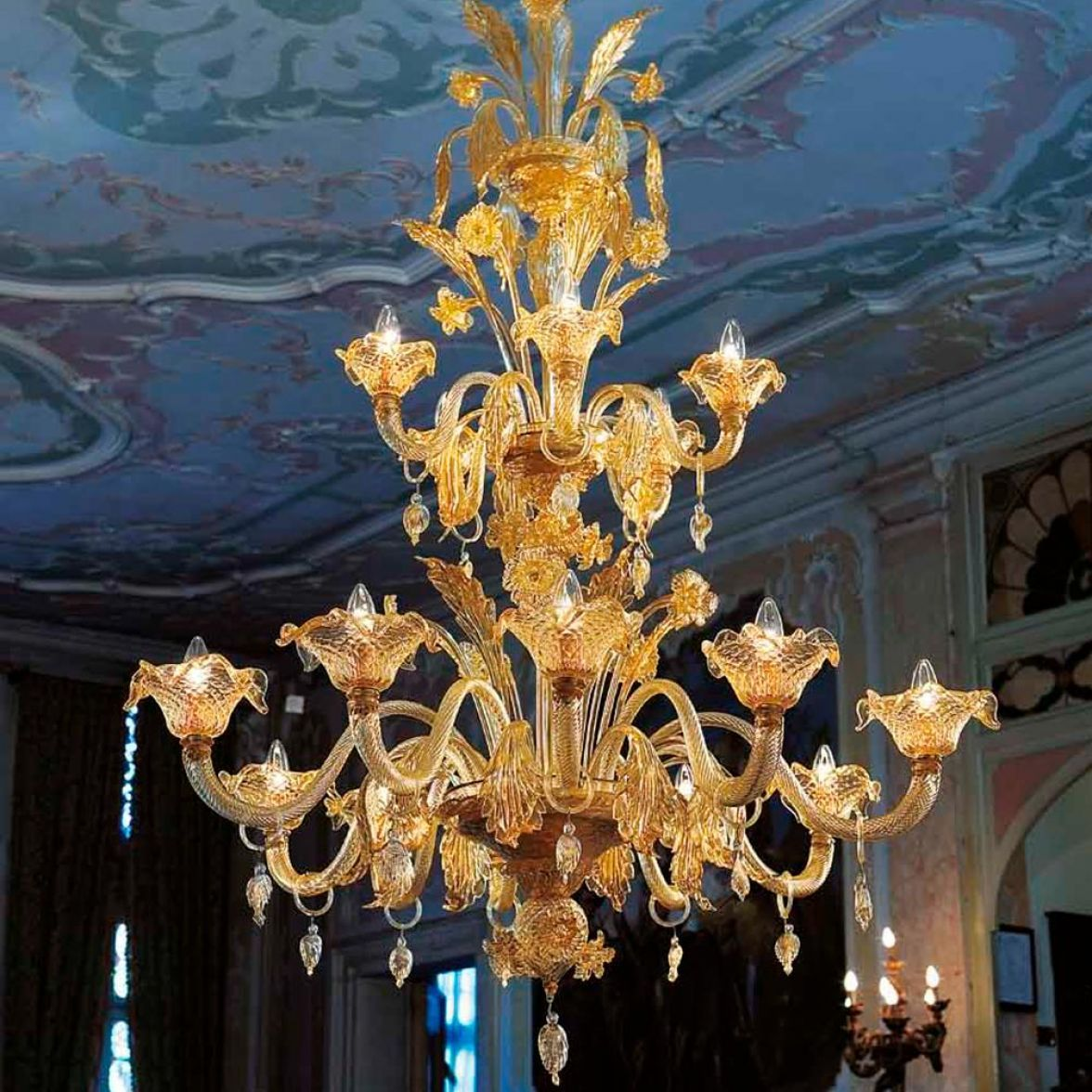 Traditional Venetian 5 Chandelier