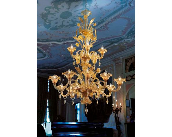 Traditional Venetian 5 Chandelier