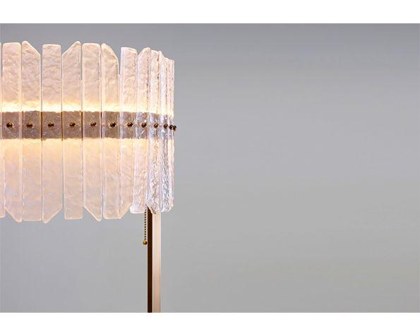 Josephine rass floor lamp