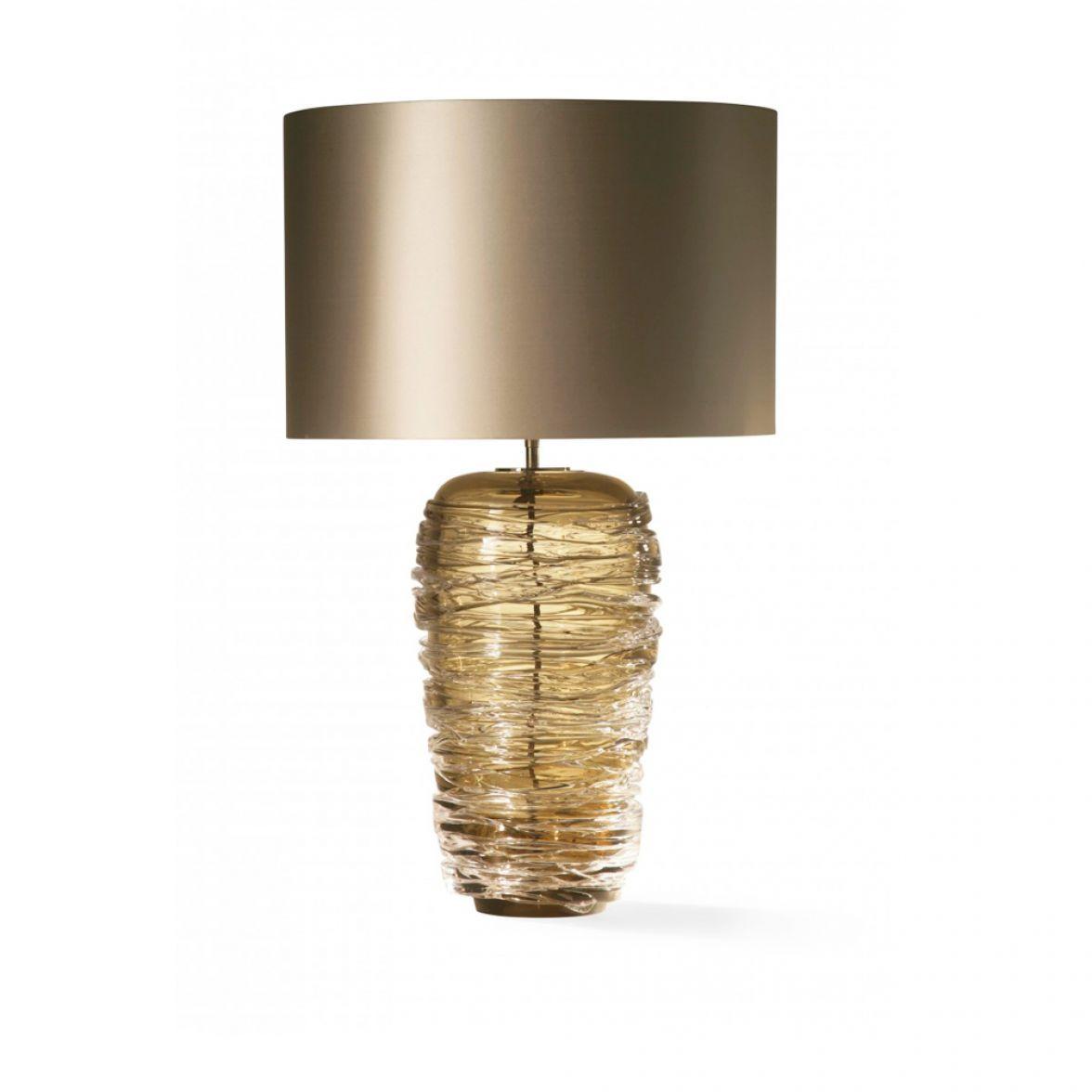 Thread table lamp