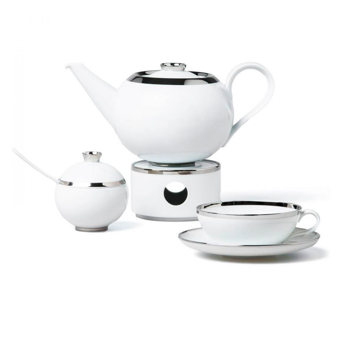 TREASURE PLATINUM tea service фото цена