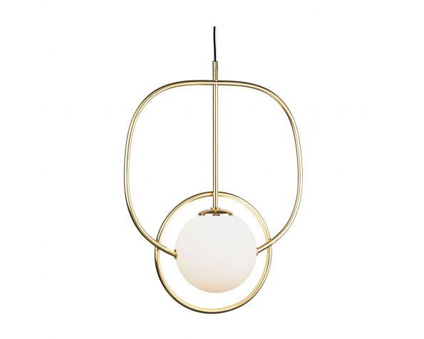 Loop suspension lamp
