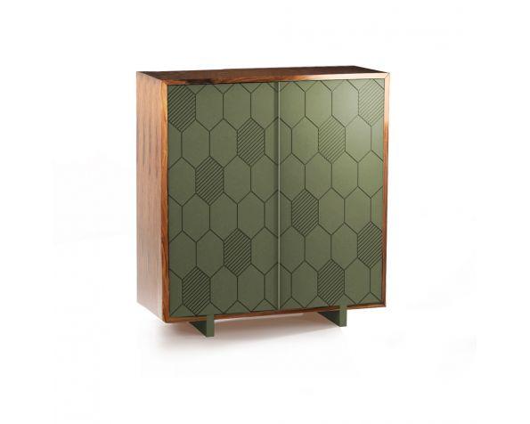 Lewis bar cabinet
