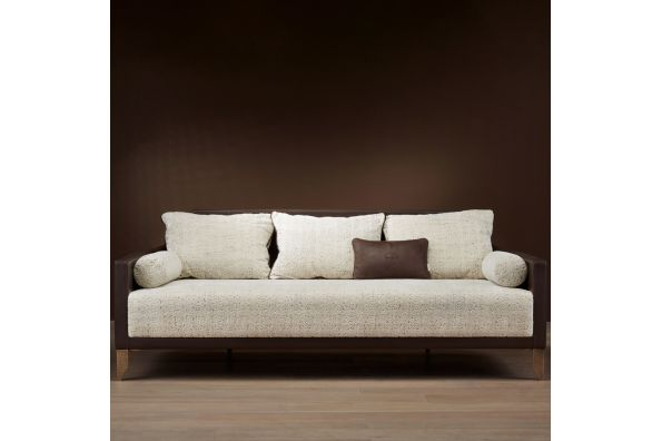 Madleine leather sofa  фото цена