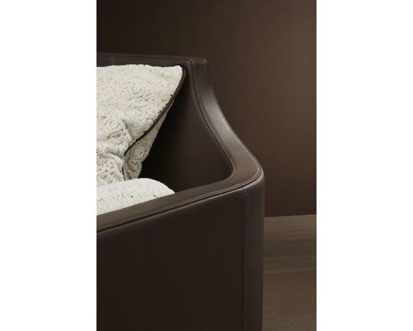 Madleine leather sofa