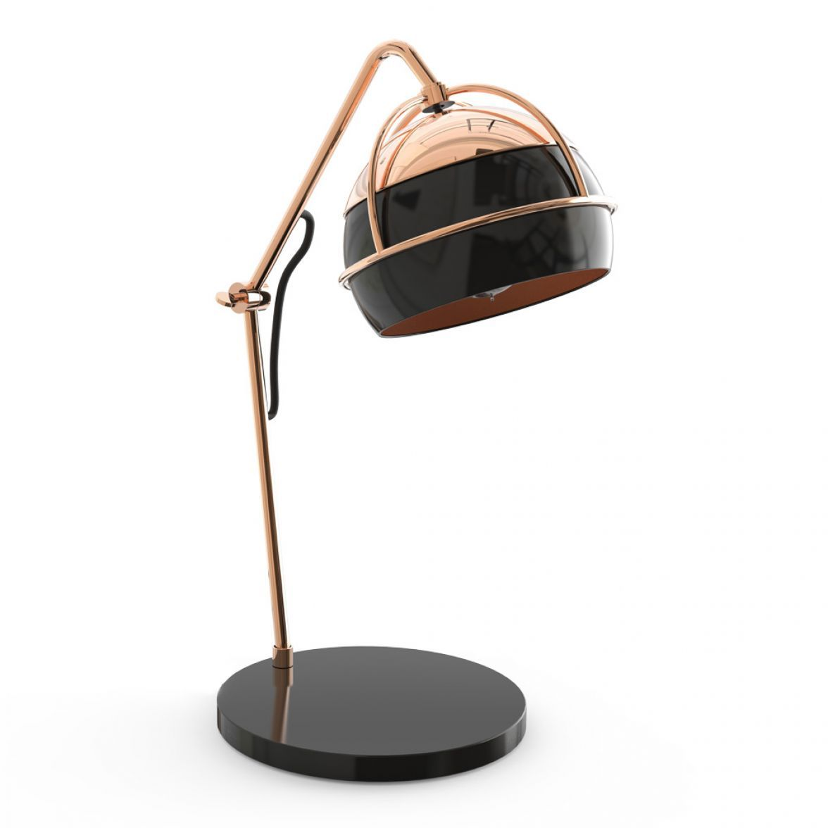 Настольная лампа Black widow фото цена