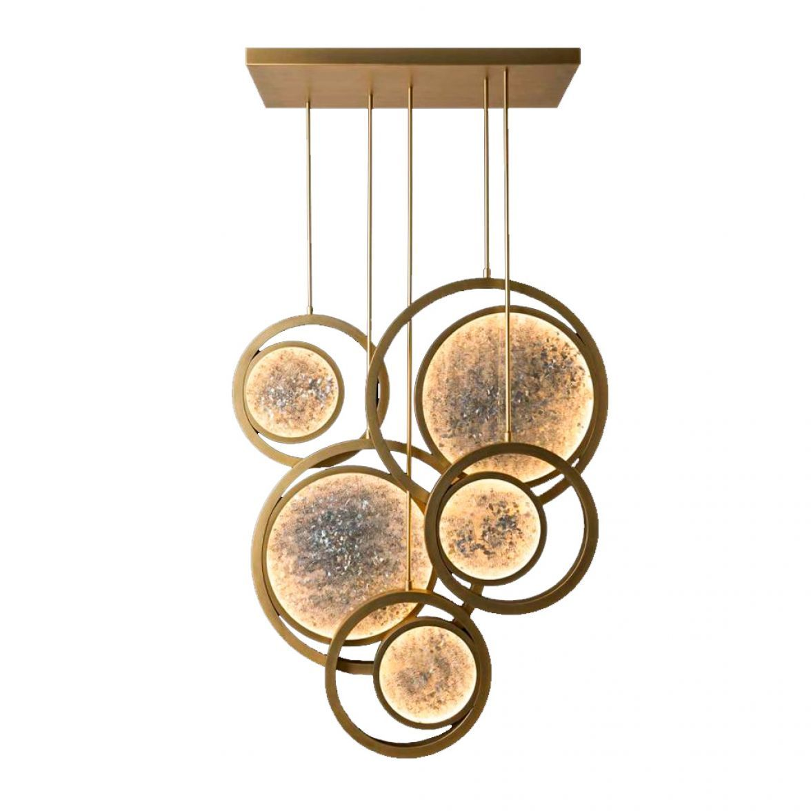 Moonlight chandelier