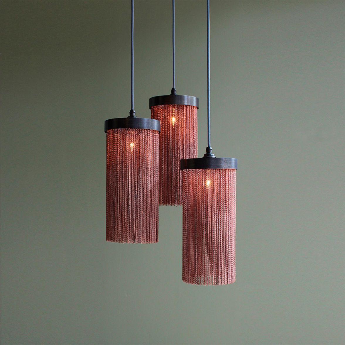 Copper Chain Maxi Pendant