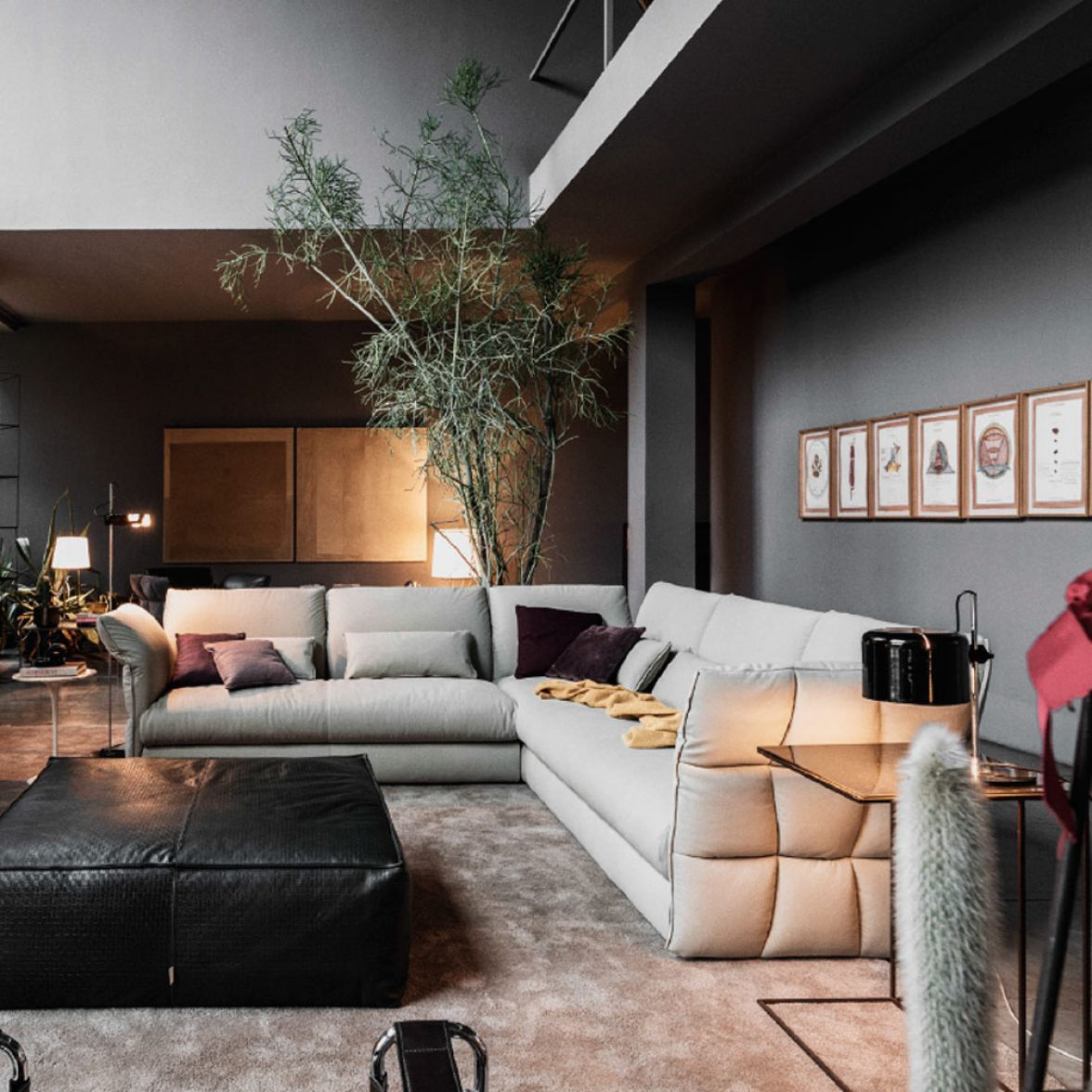 Eva Due modular sofa