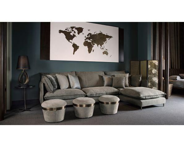 World decorative wooden panel