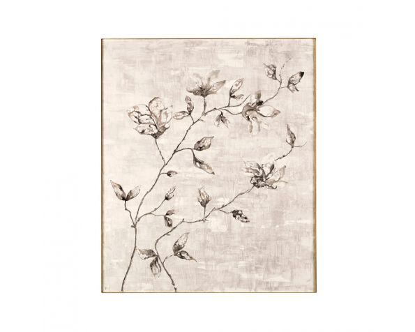 Spring decorative wooden panel