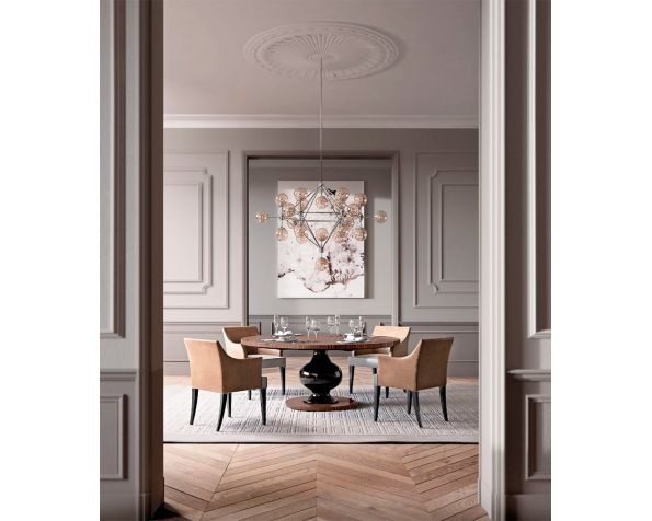 Kemp T dining table