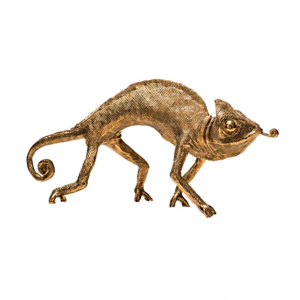 Karma chameleon sculpture