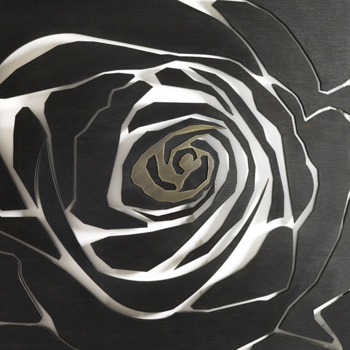 Rose wall panel