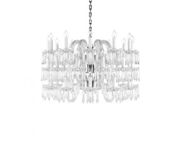Crown L chandelier
