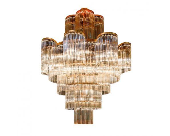 Cascae de Cristal chandelier